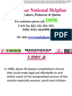 Madadgaar National Helpline