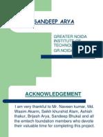 Sandeep Arya Project