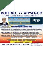BOY ALEJO, Aming Konsehal sa 1st District Antipolo City