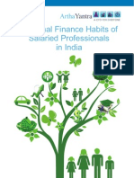 Personal Finance Habits Of Salaried Professionals In India