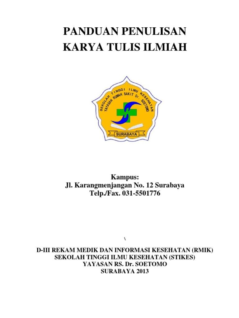Panduan Kti Stikes 2013 Pdf