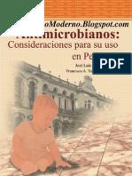 Antimicrobianos - Consideraciones Para su Uso en Pediatría