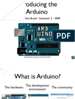 Arduino Lecture 1 - Interactive Media CS4062 Semester 2 2009