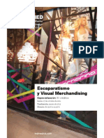 E Escaparatismo Visual Merchandisign IEDMadrid