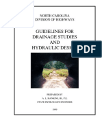 Guidelines for Drainage Studies and Hydraulic Design (March 1999)