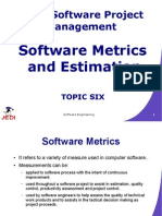 MELJUN CORTES JEDI Slides-7.6 Software Metrics and Estimation