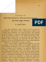 Bielz, E.A., Die Fauna Der Wirbelthiere Siebenbuergens