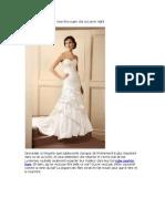 Votre robe mariée luxe vous fera super star sur prom night