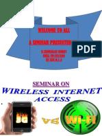 3G vs. Wifi