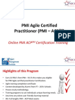 Online Agile Training | Online Agile Certification | Online PMI ACP Training | Agile Training Online