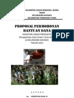 Proposal Kelompok Usaha Bersama Aren Kelurahan Kayawu