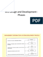 MIS Design and Development -Phases