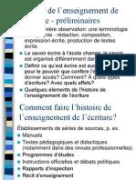 Cours 2 Histoire de la didactique de l_écrit.ppt