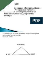 Comunicação trabalho  de comunicação