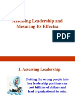 Assessing Leadership and Measuring Its Effects.ppt