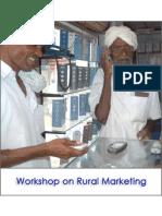 Training Program On Rural Marketing