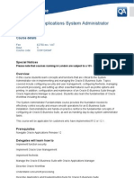 R12 Oracle Applications System Administrator Fundamentals