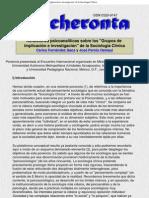 PerresReflexiones psicoanalíticas sobre los _Grupos de implicación e investigación_ de la Sociología Clínica