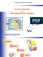 3 HACCP Overview Training Demo Ppt