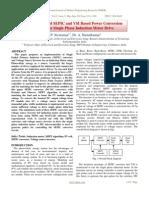2012_PV Array Fed SEPIC and VSI Based Power Conversion_P. Sivaraman, A. Nirmalkumar