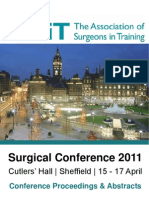 ASiT Conference Sheffield 2011 - Abstract Book