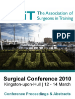 f1e3d5aac ASiT Conference Cardiff 2012 - Abstract Book | Orthopedic Surgery ...