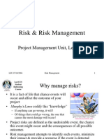 Risk & Risk Management