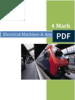 Electrical Machines & Appliances EMA - 4 Marks Q&A
