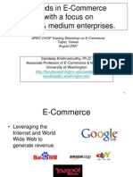 Trends in E-Commerce With a Focus on Small & Medium Enterprises.