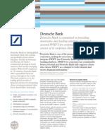 Case Study Deutsche