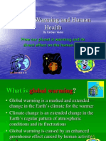 Global Warming Health Impacts
