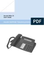 Astra OFFICE35 PHONE MANUAL
