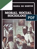 Eugenio María de Hostos_Moral-Social