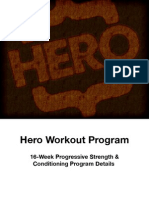 Hero Handbook Strength and Conditioning Details