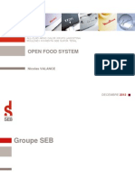 Living Things - SEB - projet Open Food System