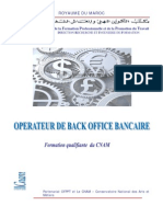 Plaquette Back Office Bancaire-OfF-BB