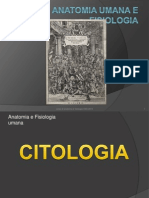 Corso OSS 2013 - Citologia