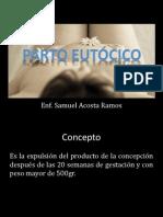 SAR - Parto eutócico