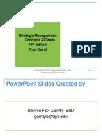 Strategic Management Chapter 13 credit