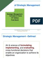 Strategic Management Chapter 01