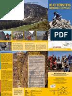 Klettersteig Folder
