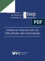 Master Intervencion en Dificultades Del Aprendizaje 11-12 E-L (OK)