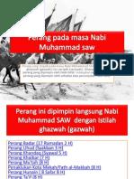 Perang Pada Masa Nabi Muhammad Saw