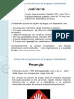 AULA - Políticas de prevenção do uso de drogas