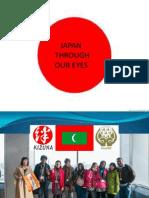 Japan Through Our Eyes-Maldives Team