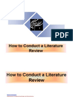 How to Conduct a Literature Review, By Nader Ale Ebrahim[1]