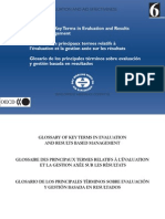 Oecd 2002 Evaluation Glossary