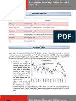 Mid-Quarter Monetary Policy Review June 2012