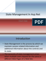 State Management in ASP Client Side .