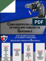 IDENTIFICACIÓN DE LAS ARMAS DE FUEGO